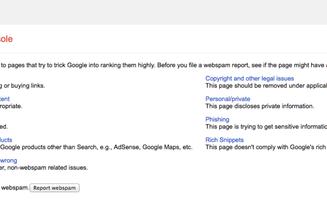 Google Spam Report, Defensive SEO