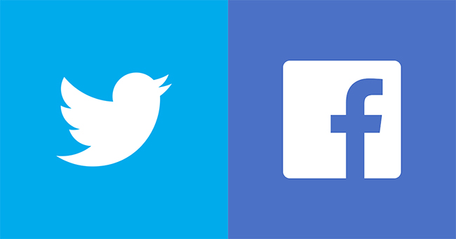 Facebook and Twitter Search