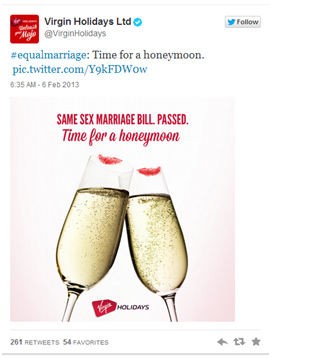 Virgin Real-Time Marketing