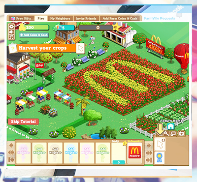 McDonald Farmville