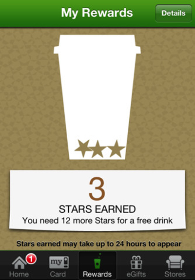 Starbucks Loyalty App